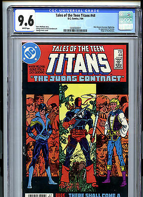 Tales of the Teen Titans #44 (1984) DC CGC 9.6 White Dick Grayson as Nightwing