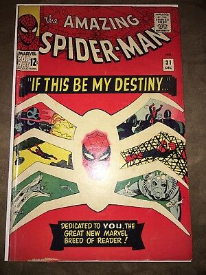 Amazing Spider-Man #31  First Appearance Gwen Stacy,Harry Osborn Steve Ditko Key