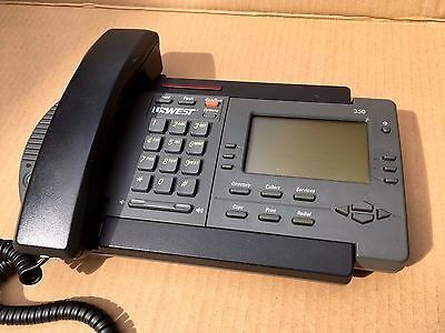 Nortel PowerTouch / Vista 350 (USWEST) Office Business Telephone - Black Phone