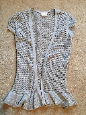 Girls Justice Gray Sweater Top Size 10
