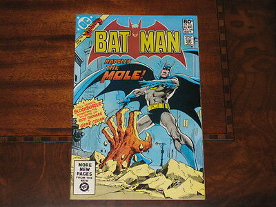 Batman #340 9.0 VF/NM With White Pages DC 1981