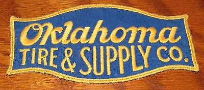 Vintage Oklahoma Tire & Supply Co. Patch