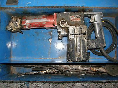 Skil 731 Roto Hammer  Drill Demolition Extra Heavy Duty Bits & Case Works