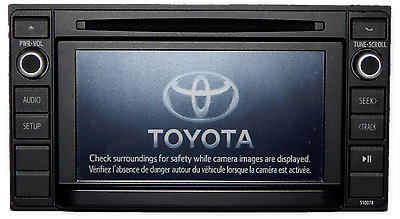 2014 2015 Toyota Tacoma Radio CD Player Bluetooth MP3 Receiver 86140-04150 OEM