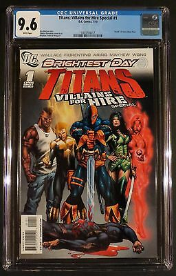 TITANS VILLAINS FOR HIRE SPECIAL 1 CGC 9.6 NM New Teen Death of Ryan Choi Atom