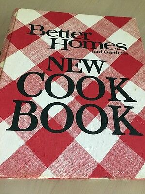VINTAGE BETTER HOMES and GARDENS New COOK BOOK 5 Ring Binder!! RARE!