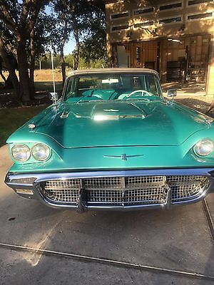 "1960 Ford Thunderbird 2dr Coupe 1960 Ford Thunderbird ""very clean original condition"""