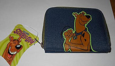2003 Hanna Barbera Scooby DOO Zip up / Snap Card and Change Wallet NEW w Tags