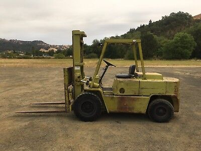 Clark Forklift 10,000 Lbs Capacity* Side Shift* Low hours