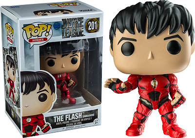 Exclusive Flash Unmasked Justice League Funko Pop Vinyl New in Mint Box In Hand