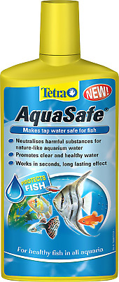 Tap Water Conditioner Freshwater Marine Fish Aquarium Tank Safe, 500ml