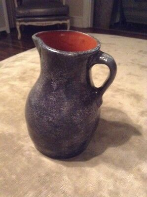Pennsylvania Red Ware Pitcher Dated 1990