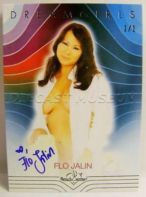 Flo Jalin Auto Autographed Dreamgirls 1/1 Bench Warmer 2017 1Of1 Ultra Rare