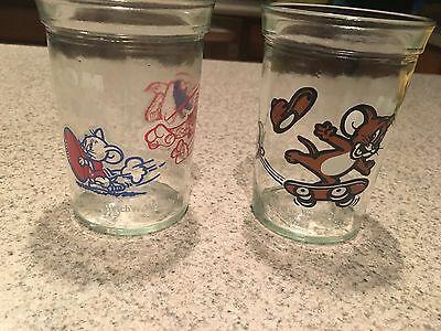 Welch's Tom and Jerry Jelly Jars
