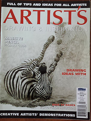 Artist's Drawing & Inspiration Magazine Issue 1