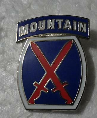 10th Mountain Division - Hat Pin