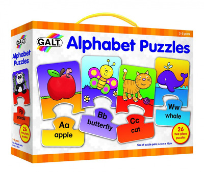 26 Colourful Alphabet Puzzles Educational Learning Toy For Ages 3 To 5 Years