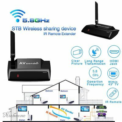 Wireless AV HDMI Sender HD TV Audio Video Sender HDMI Transmitter Receiver