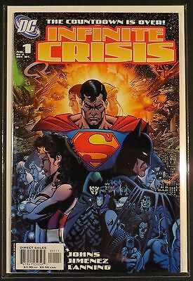 DC INFINITE CRISIS 1-7 NM Complete All Prints Variants George Perez Jim Lee 2005
