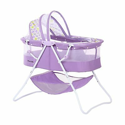 Dream on Me Karley Bassinet Periwinkle Purple