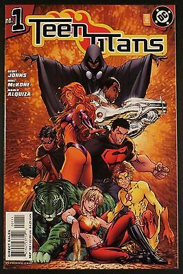 TEEN TITANS 1-50 NM+ Johns McKone Variants Wizard 1/2 Annual Deathstroke DC 2003