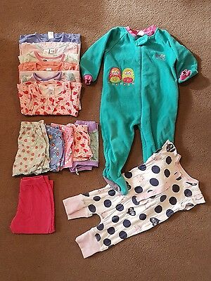 Mixed Girls Clothing Pyjamas Winter & Summer Size 2 Carrum Downs