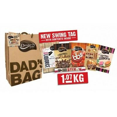 Darrell Lea Dad's Bag Fathers Day Chocolate Liquorice Sweets 1.07Kg