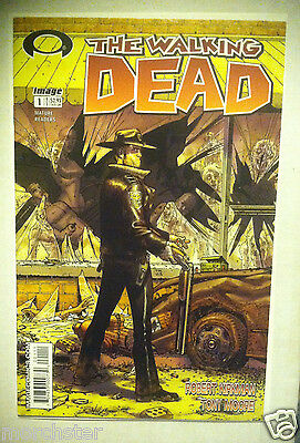 The Walking Dead 1 White Label 1St Printing First Appearance Rick Grimes Zombies