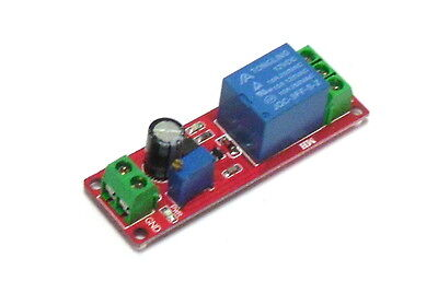 Single Channel 12V Adjustable Timer Delay Relay Module Switch 0~10s