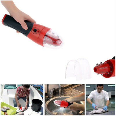 Portable Powerful Hangheld Rechargeable Electric Fish Scale Scaler Kitchen Tool