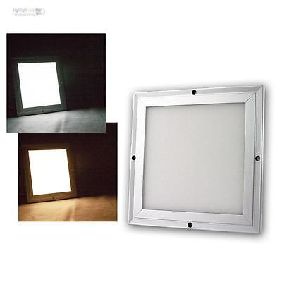 LED Panel 20x20cm Color Changeable Dimmable with Remote Control,