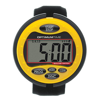 Optimum Time Series 3 Big Sailing Watch - OS315 - Yellow