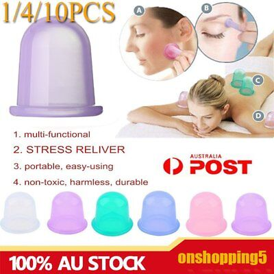 Health Care Body Massager Anti Cellulite Vacuum Silicone Cupping Cup Reliver OUZ