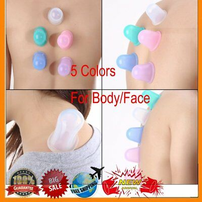 Health Care Body Massager Anti Cellulite Vacuum Silicone Cupping Cup Reliver BS