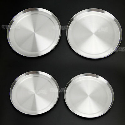 4pcs Set Round Stainless Steel Stove Top Covers Kitchen Cook to Burner Cover AU