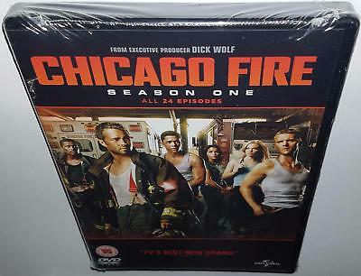 Chicago Fire Complete Season 1 Brand New Sealed R4 Dvd