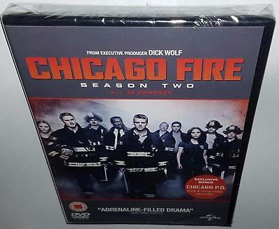 Chicago Fire Complete Season 2 Brand New Sealed R4 Dvd