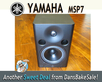 """Used Yamaha MSP7 Studio 6.5"""" Powered Studio Monitor in excellent condition!"""