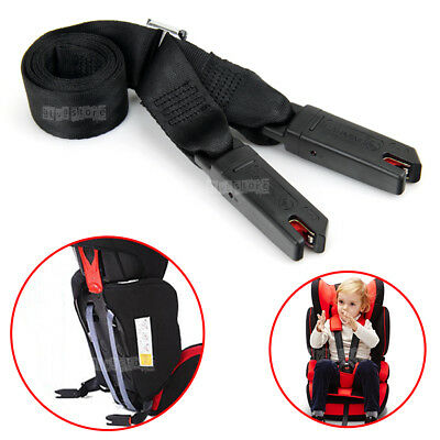 165cm Car Baby Safe Seat Interface Isofix Link Belt Anchor Holder Fixing Strap