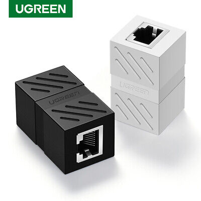 UGREEN 10Pack RJ45 Coupler Inline Cat7/Cat6/Cat5e Ethernet Network Cable Adapter