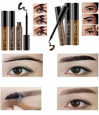 Gel teinture sourcils masque sourcils couleur coloration semi permanent   W18