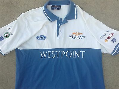 Dick JOHNSON WESTPOINT FORD racing POLO shirt