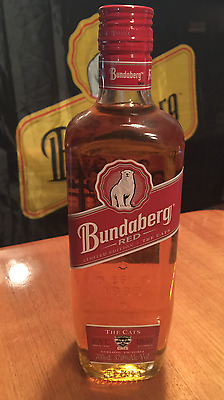 Bundaberg Red Rum 2007 Geelong Cats Limited Edition 700ml Bottle Number 23721
