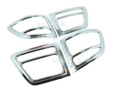 Chrome Tail Light Cover Trim For Toyota Fortuner 2005 2006 2007 2008