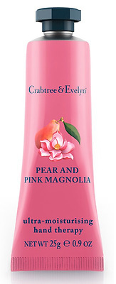Crabtree & Evelyn Pear & Pink Magnolia Ultra-Moisturising Hand Therapy - 25g