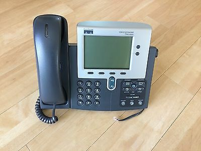 Cisco Systems VoIP Business IP phone handset direct from UK plc - exc. quality