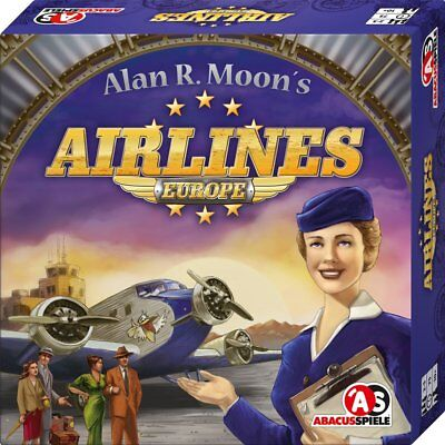 """Abacus Spiele ABA03111 """"Airlines Europe"""" Game"""
