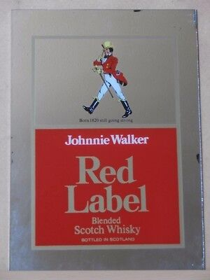 Extremely Rare! Johnnie Walker Old Antique Mirror