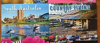 2017 Calendars Birds / South Australia / Country / Floral / Kittens