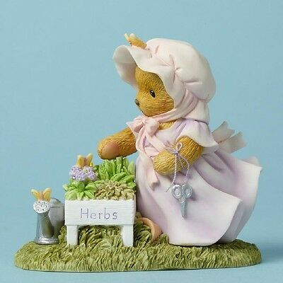 "Cherished Teddies ERMA, ""There's Always Thyme For Gardening"", 4045933, MIB"